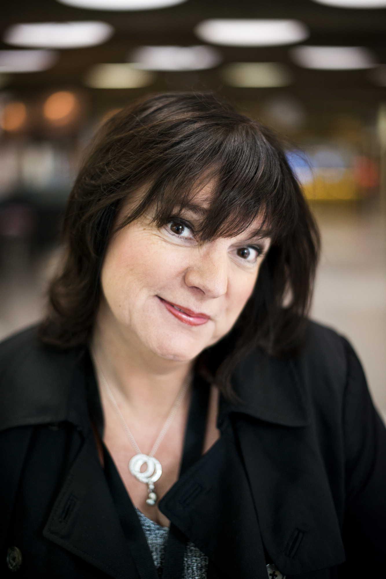 Lotta Bromé, årets bästa kvinnliga programledare i radio 2015. Foto: Alexander Donka